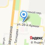 Институт дополнительного профессионального образования на карте Астрахани