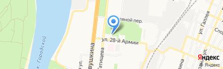 АГТУ на карте Астрахани