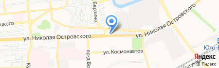 Урологический кабинет на карте Астрахани