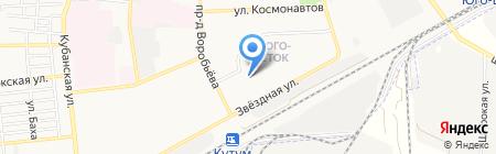 Детский сад №38 на карте Астрахани