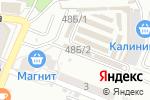 Схема проезда до компании Станция Спортивная в Астрахани