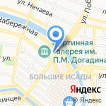 PRO ЕДУ на карте Астрахани