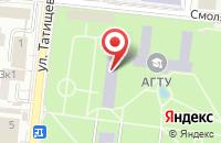 Схема проезда до компании АГТУ в Астрахани