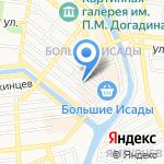 Планета детства на карте Астрахани