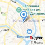 Областная спортивная школа на карте Астрахани