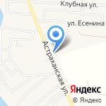 Абдурагимов З.Я. на карте Астрахани