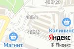 Схема проезда до компании Спальный район в Астрахани