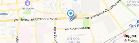 МАРС на карте Астрахани
