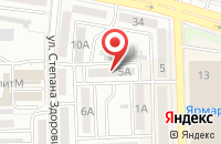 Схема проезда до компании Центурион в Астрахани
