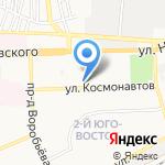 Дороти на карте Астрахани