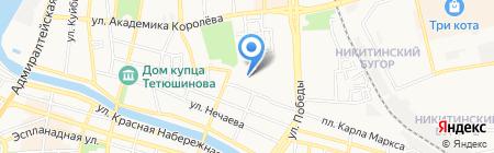 Хоккейный магазин на карте Астрахани