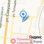 Школа боевого каратэ киокушинкай на карте Астрахани