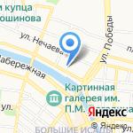 Visa Travel на карте Астрахани