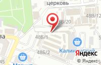 Схема проезда до компании Двери Тут в Астрахани