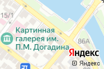 Схема проезда до компании А в Астрахани