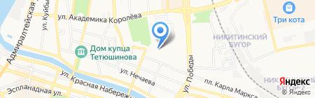 Уютный уголок на карте Астрахани