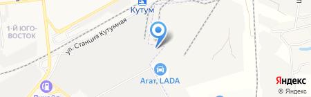 Импеллер на карте Астрахани