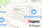 Схема проезда до компании OrangeStyle в Астрахани