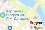 Схема проезда до компании Каспий полимер в Астрахани