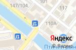 Схема проезда до компании Прибой в Астрахани