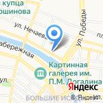 Саида на карте Астрахани