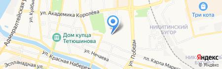 Магазин сантехники и мебели для ванных комнат на карте Астрахани