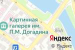 Схема проезда до компании Магазин спецодежды в Астрахани
