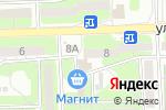 Схема проезда до компании Амели в Астрахани