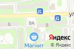 Схема проезда до компании Коралл в Астрахани