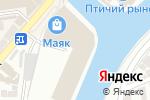 Схема проезда до компании Астраханский фермер в Астрахани