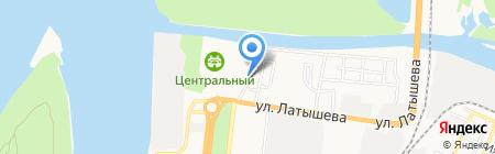 Консульство Туркменистана в г. Астрахани на карте Астрахани