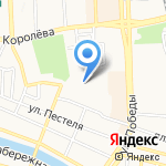 Торговая фирма на карте Астрахани