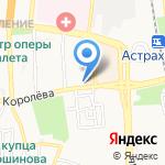 Государственный архив Астраханской области на карте Астрахани