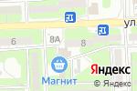 Схема проезда до компании Азбука на радуге в Астрахани