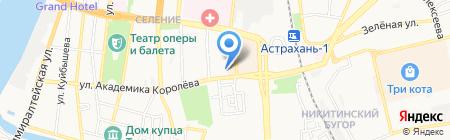 Служба ЗАГС Астраханской области на карте Астрахани