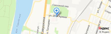 3 пара на карте Астрахани