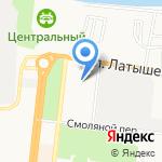 Астраханский государственный архитектурно-строительный университет на карте Астрахани