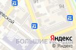Схема проезда до компании Серебряный Шарм в Астрахани