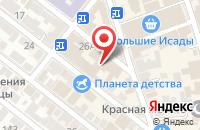 Схема проезда до компании Каспер в Астрахани