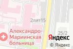 Схема проезда до компании Областной перинатальный центр в Астрахани