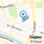 Магазин спецодежды на карте Астрахани