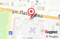 Схема проезда до компании Игри`c Лайн в Астрахани