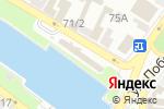 Схема проезда до компании Donar kebab в Астрахани