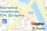 Схема проезда до компании Булкин в Астрахани