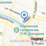 Donar kebab на карте Астрахани