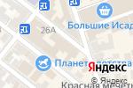 Схема проезда до компании Объединение потребителей России в Астрахани