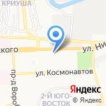 Юго-Восток 2 на карте Астрахани