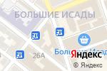 Схема проезда до компании Услуга в Астрахани