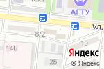 Схема проезда до компании Гера в Астрахани