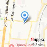 Областной врачебно-физкультурный диспансер на карте Астрахани